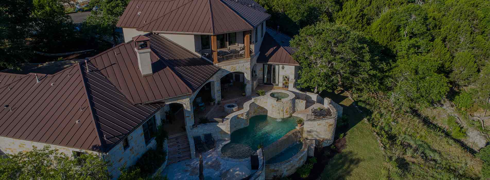 mansion with pool